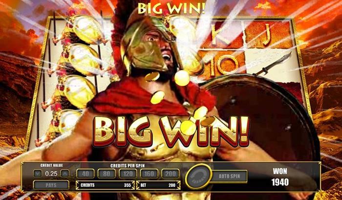 Leonidas big win