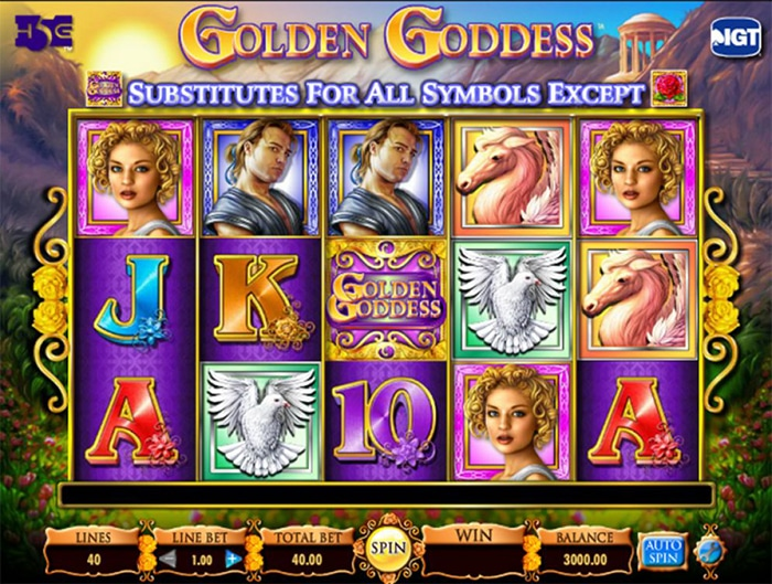 Golden Goddess screen